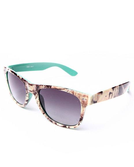 Drj Sunglasses Shoppe Men Campfire Bicolor Sunglasses Blue