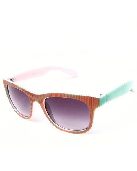 Drj Sunglasses Shoppe Men Culture Shock Multi Color Sunglasses Multi