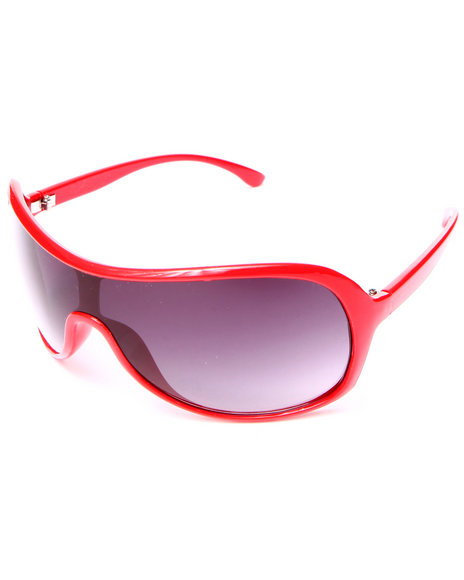 Drj Sunglasses Shoppe Men Speedy Finish Sunglasses Red