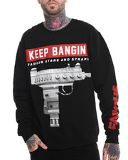 Men - Keep Bangin Crewneck Sweatshirt