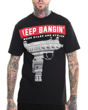 Famous Stars & Straps - Keep Bangin Tee