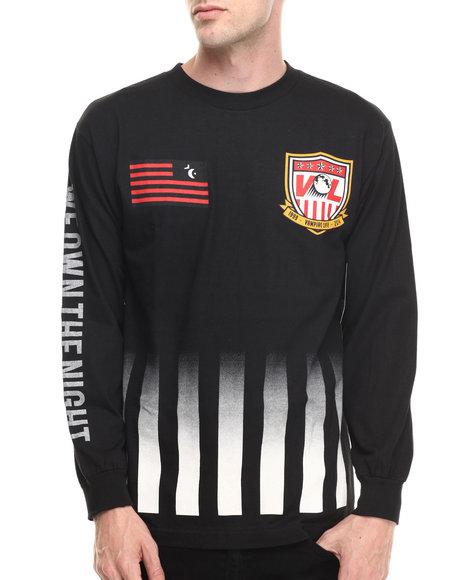 Vampire Life - Men Black Goalie L/S T-Shirt