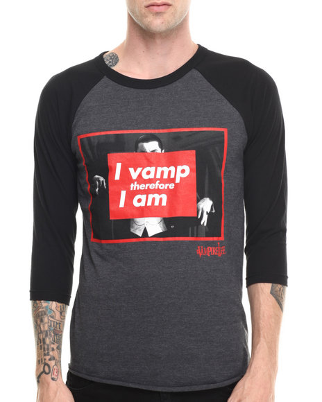 Vampire Life - Men Black I Vamp Therefore L/S T-Shirt