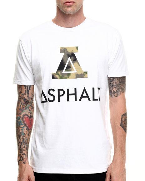 Asphalt Yacht Club - Men White Sky High Tie Dye Boundary Tee