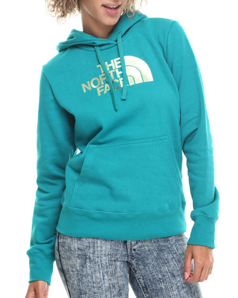 The North Face - Women Teal Half Dome Hoodie