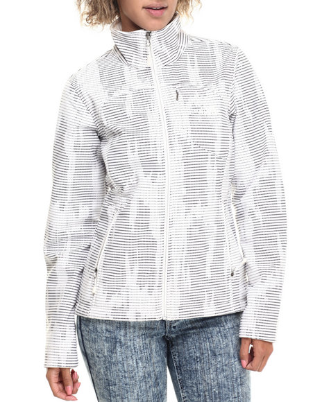 The North Face - Women White Apex Bionic Jacket