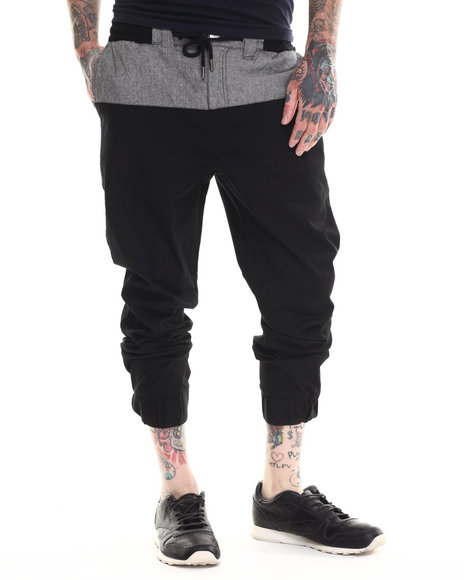 Parish - Men Black Jogger Pants