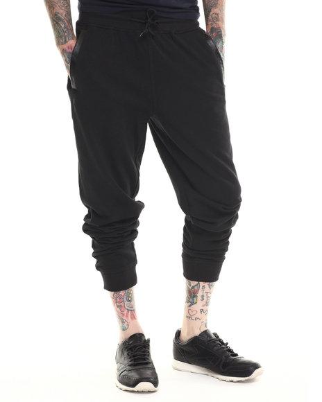 Parish - Men Black Snake Sweatpants