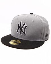 Men - New York Yankees Gray/Blk 5950 fitted hat