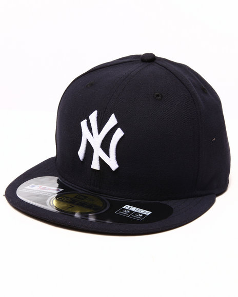 New Era - Men Navy New York Yankees On Field Authentic 5950 Fitted Hat