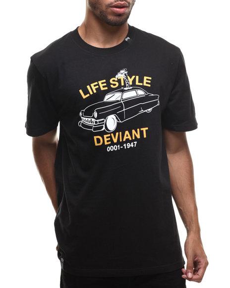 Lrg - Men Black Life Style Deviant S/S Tee