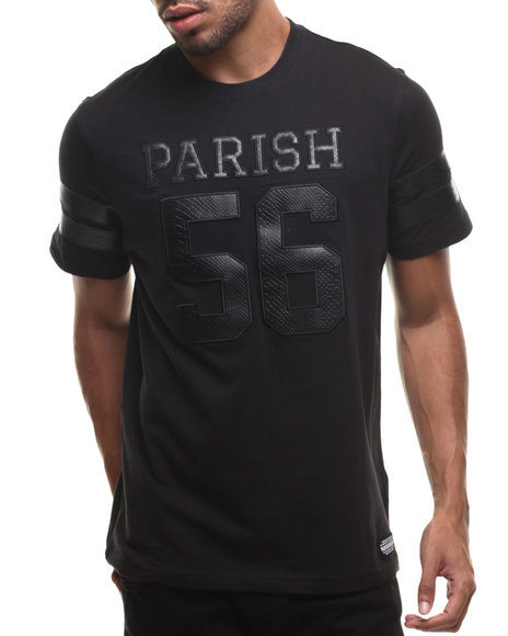 Parish - Men Black Snake T-Shirt