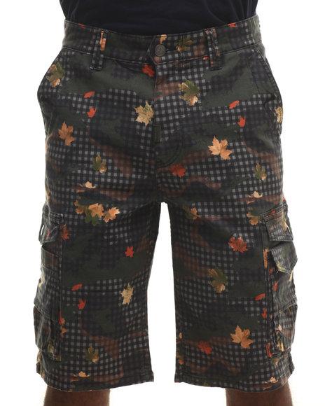 LRG - Men Olive L47 Classic Cargo Shorts