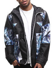 LRG - Dark Crystal Mesh - Lined Jacket