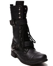 Fashion Lab - Kayla Lace Up Boot