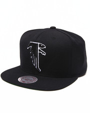 Mitchell & Ness - Atlanta Falcon NFL Throwbacks Wool Solid Snapback Hat