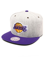 Men - Los Angeles Lakers NBA HWC / Current Heather Grey	Wool	Strapback Hat