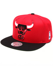 Mitchell & Ness - Chicago Bulls NBA HWC Current XL Logo 2 Tone Snapback Hat