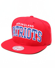 Men - New England Patriots NFL Throwbacks Arch Solid Snapback Hat