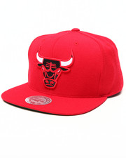 Men - Chicago Bulls NBA HWC / Current Wool Solid Snapback Hat
