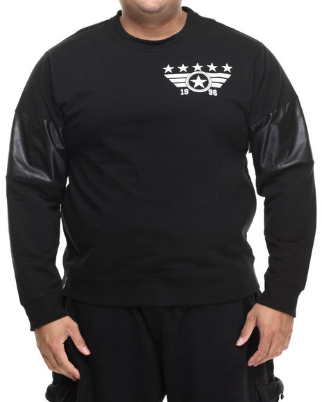 Enyce - Men Black E-Force Sweatshirt (B&T)