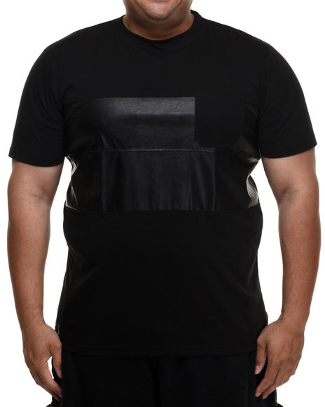 Enyce - Men Black Eccosse's T-Shirt (B&T)
