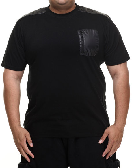 Enyce - Men Black Hummer T-Shirt (B&T)