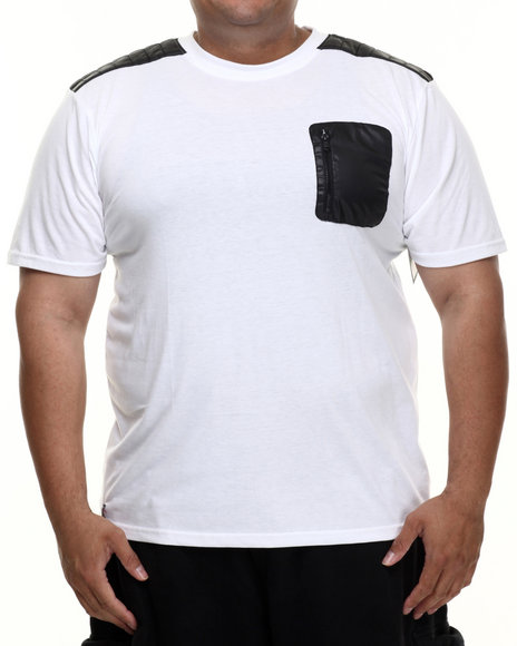 Enyce - Men White Hummer T-Shirt (B&T) - $38.00