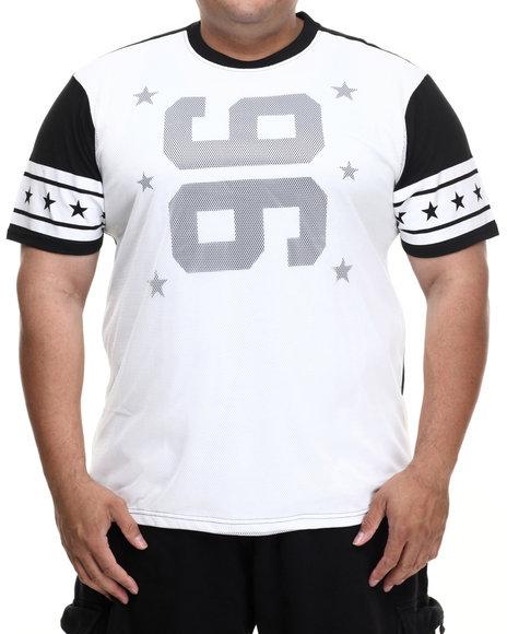 Enyce - Men White Touchdown T-Shirt (B&T) - $17.99
