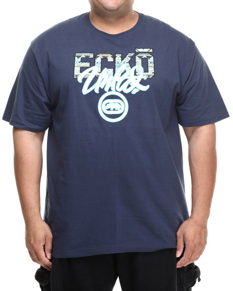 Ecko - Men Navy Aztec T-Shirt (B&T)