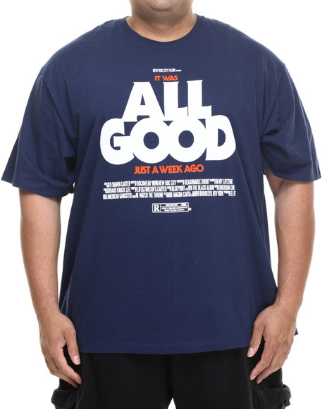 Rocawear - Men Blue All Good S/S Tee (B&T)