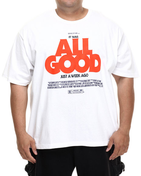 Rocawear - Men White All Good S/S Tee (B&T)