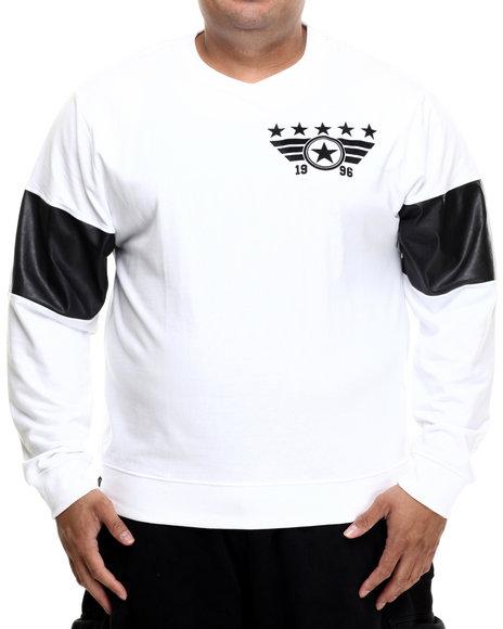 Enyce - Men White E-Force Sweatshirt (B&T)