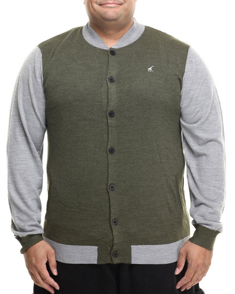 Lrg Olive Sweaters