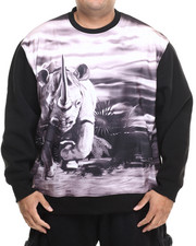 Men - Charging Rhino Sweatshirt (B&T)