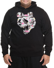 Big & Tall - Panda Faced Pullover Hoodie (B&T)