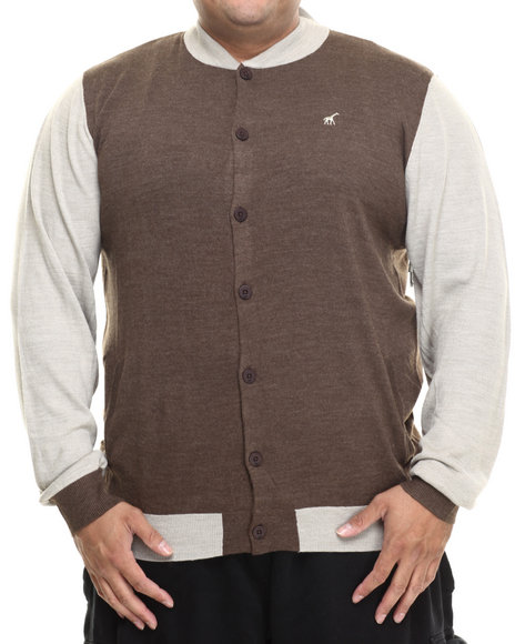 Lrg - Men Brown Abu Research Sweater (B&T)
