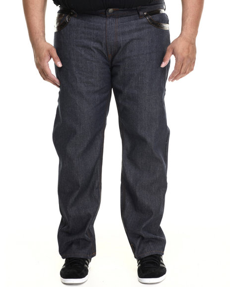Enyce - Men Dark Wash Bronx Denim Jeans (B&T)
