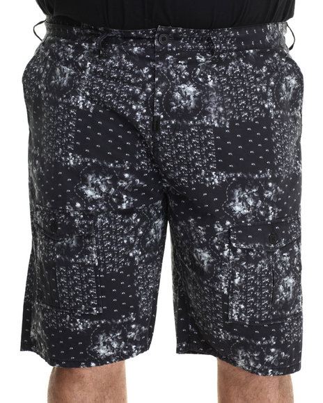 LRG - Men Black Honorary Scumbag Cargo Shorts (B & T)