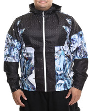 LRG - Dark Crystal Mesh - Lined Jacket (B&T)