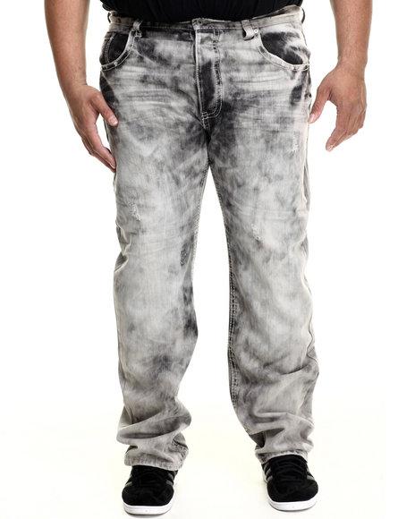 Parish - Men Black Washed Denim Jeans (B&T)