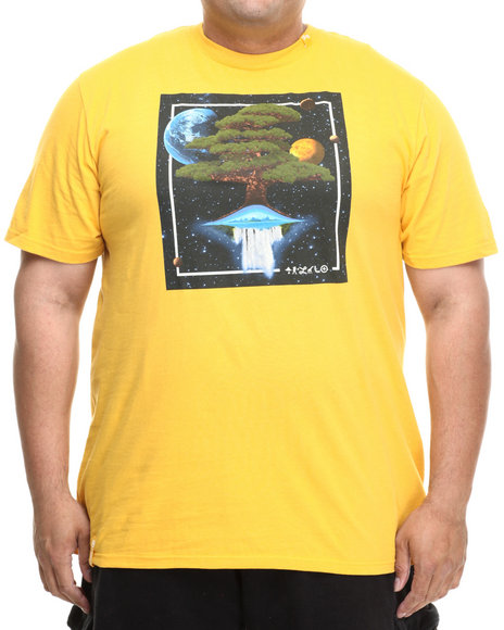Lrg - Men Yellow Down From Earth S/S Tee (B&T)