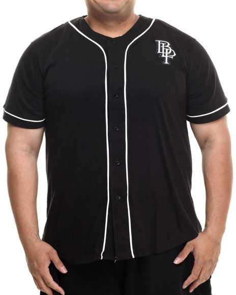 Blac Label - Men Black Blac Label Baseball Top (B&T)