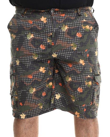 Lrg - Men Olive L47 Classic Cargo Shorts (B&T)