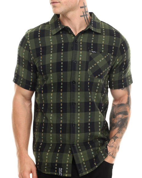 Olive Button-Downs