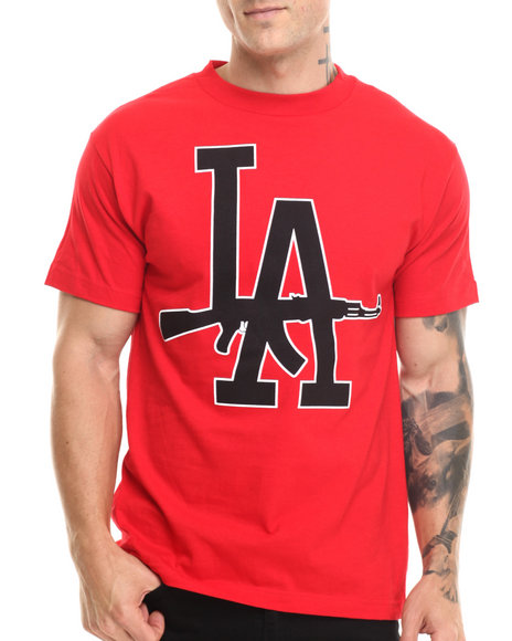 Radii Footwear - Men Red L A 47 S/S Tee