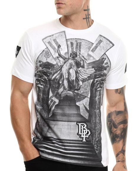 Blac Label - Men White Blac Label Graphic T-Shirt - $16.99