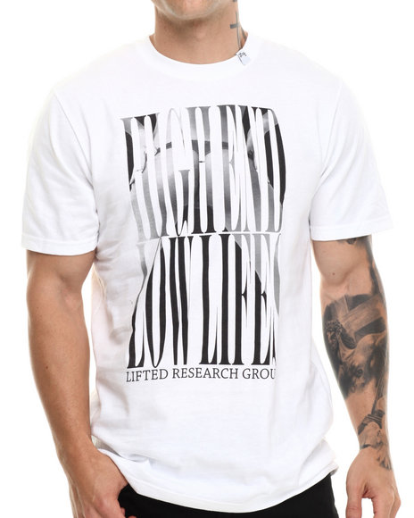 Lrg - Men White Honorary Scumbag S/S Tee - $18.99