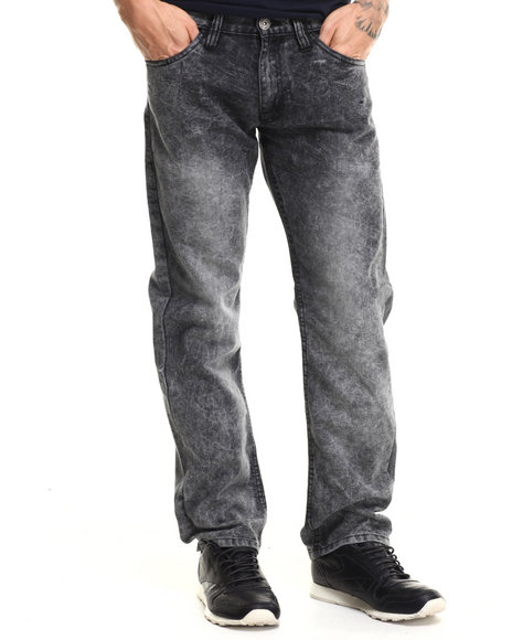 Basic Essentials - Men Black Toxic Denim Jeans
