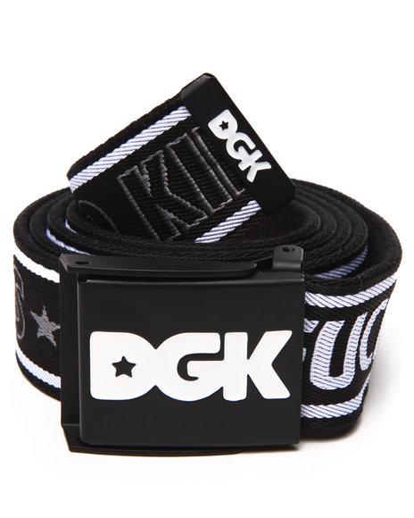 Dgk Men Dfgk Scout Belt Black